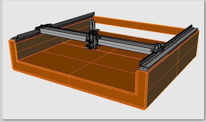 momus CNC large format router